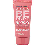 Travel Size Pores Be Pure Skin Clarifying Mud Mask