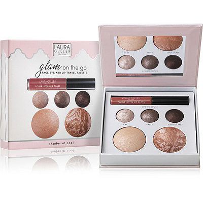 Laura Geller Glam On The Go - Face%2C Eye %26 Lip Travel Palette