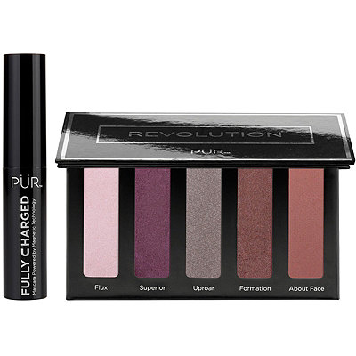 PÜRRevolution Mini Eyeshadow Palette w%2F Fully Charged Mascara