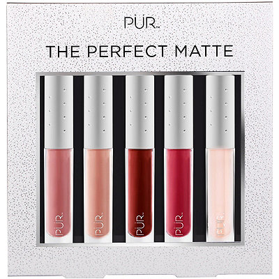 PÜR CosmeticsThe Perfect Matte 5 Pc Velvet Matte Liquid Lipstick Collection w%2F Lip Oil