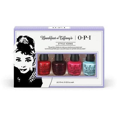 OPIBreakfast at Tiffany%27s 4 Pc Mini Set