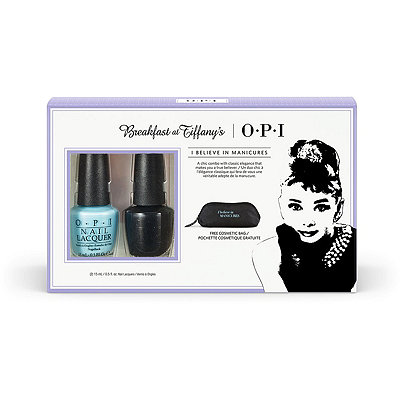 OPIBreakfast at Tiffany%27s 2 Pc with Cosmetic Bag