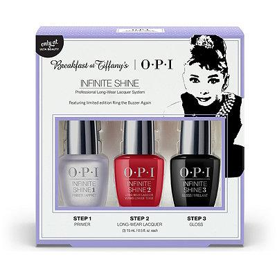 OPIBreakfast at Tiffany%27s 3 Pc Infinite Shine Set