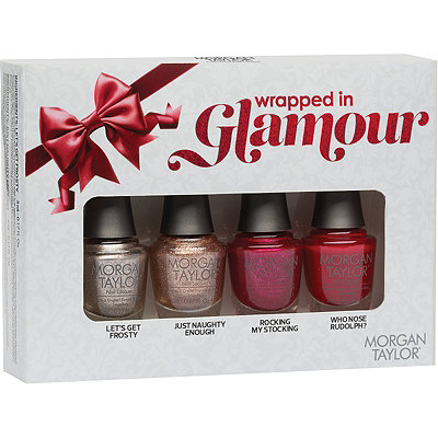 Morgan Taylor Online Only Wrapped in Glamour 4 Pc Mini Set