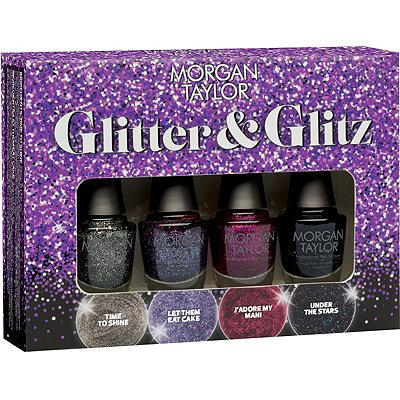 Morgan TaylorOnline Only Glitter %26 Glitz 4 Pc Mini Set