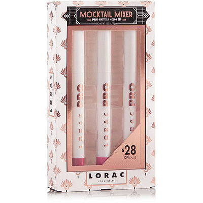 Lorac Mocktail Mixer PRO Matte Lip Color Set