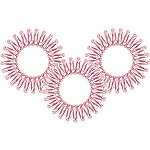 Time To Shine Original Traceless Hair Ring