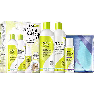 DevaCurlCelebrate Curly Kit
