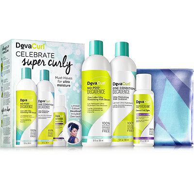 DevaCurlCelebrate Super Curly Kit
