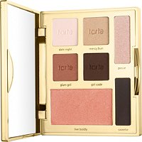 Double Duty Beauty Happy Girls Shine Brighter Eye & Cheek Palette by Tarte