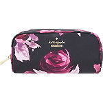 Classic Nylon Berrie Floral Cosmetic Case