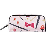 Classic Nylon Berrie Printed Cosmetic Case