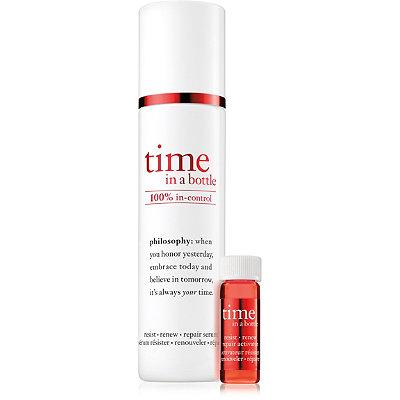 PhilosophyTime in a Bottle 100%25 In-Control Resist Renew Repair Serum