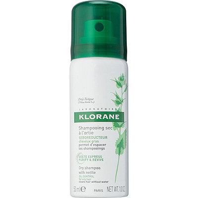 Klorane Travel Size Dry Shampoo with Nettle