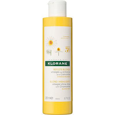KloraneBlond Highlights Vinegar Shine Rinse with Chamomile