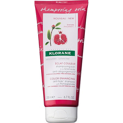 Klorane Online Only Color Enhancing Anti-fade Shampoo with Pomegranate