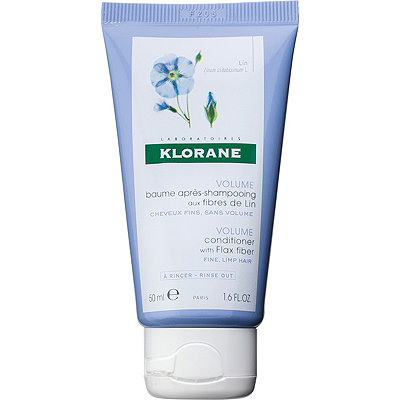 Klorane Online Only Travel Size Volume Conditioner with Flax Fiber