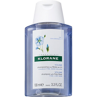 Klorane Online Only Travel Size Volume Shampoo with Flax Fiber