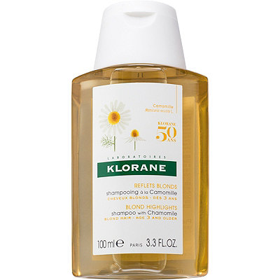 Klorane Online Only Travel Size Blond Highlights Shampoo with Chamomile