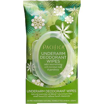 PacificaCoconut Milk %26 Gardenia Deodorant Wipes
