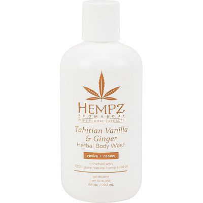 HempzAromabody Tahitian Vanilla & Ginger Herbal Body Wash