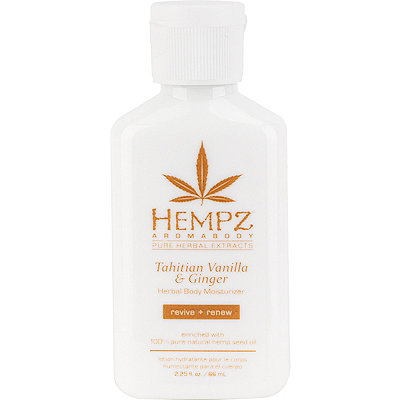 Hempz Travel Size Aromabody Tahitian Vanilla %26 Ginger Herbal Body Moisturizer