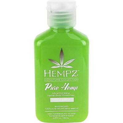 HempzTravel Size Pure Hemp Ultra-Hydrating Herbal Body Moisturizer
