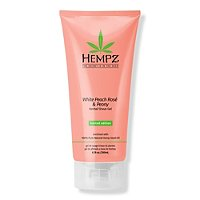 White Peach Rosé & Peony Herbal Shave Gel by Hempz