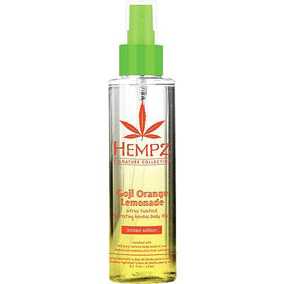 HempzGoji Orange Lemonade Hydrating Herbal Body Mist