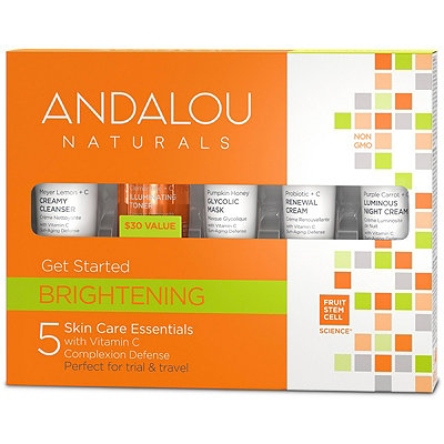 Andalou Naturals Online Only Get Started Brightening Kit
