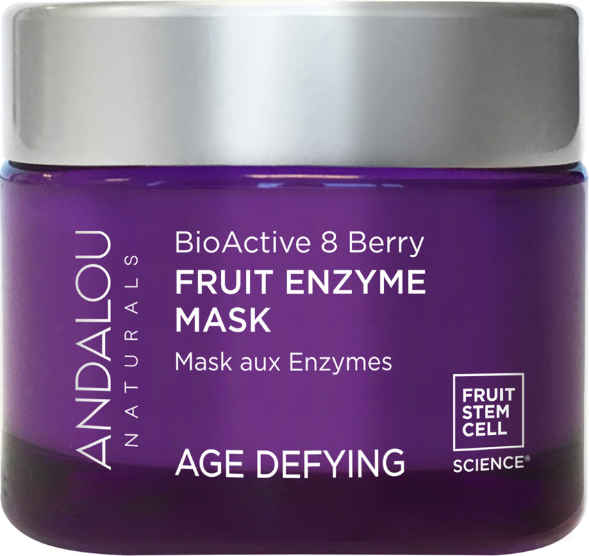 Age-Defying Enzyme Face Mask Bioactive 8 Berry - 1.7 oz. by Andalou Naturals (pack of 2) Goldwell Dualsenses Just Smooth 6 Effects Serum 3.4 oz