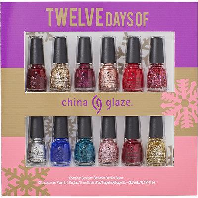 China GlazeOnline Only 12 Days of China Glaze