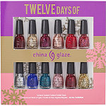 Online Only 12 Days of China Glaze