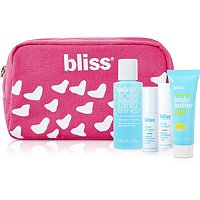 Receive a free 4-piece bonus gift with your $35 Bliss purchase