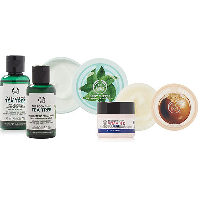 Receive a free 5-piece bonus gift with your $30 The Body Shop purchase