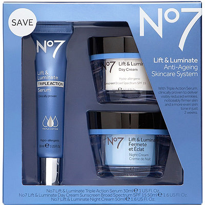 No7 Lift %26 Luminate Skincare System