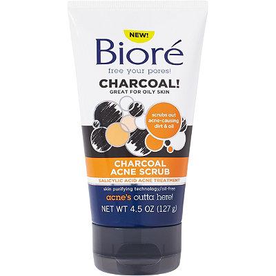 bior charcoal acne scrub