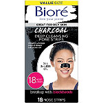 Bioré Deep Cleansing Charcoal Pore Strips 18ct Nose