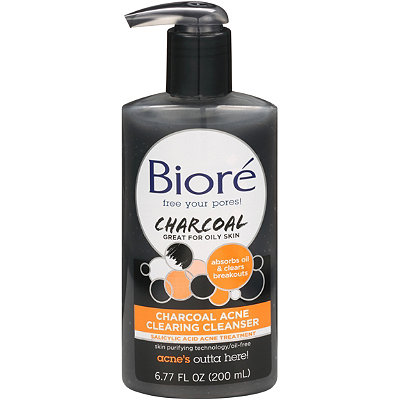 BioréCharcoal Acne Cleanser
