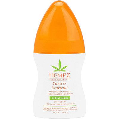 HempzYuzu %26 Starfruit Herbal Moisturizing %26 Texturizing Sea Salt Spray