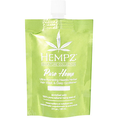Hempz Pure Hemp Ultra-Hydrating Healthy Herbal Hair Mask %26 Deep Conditioner
