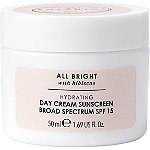 Botanics All Bright Hydrating Day Cream Sunscreen Broad Spectrum SPF 15