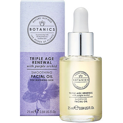 Botanics Triple Age Renewal Smoothing Facial Oil