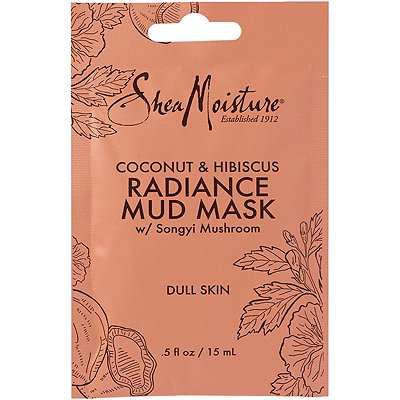 SheaMoisture Coconut %26 Hibuscus Radiance Mud Mask Packette
