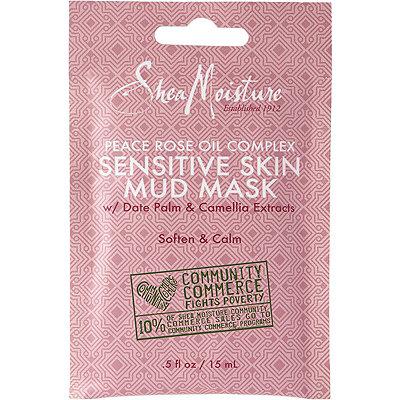 SheaMoisturePeace Rose Sensitive Skin Mud Mask Packette