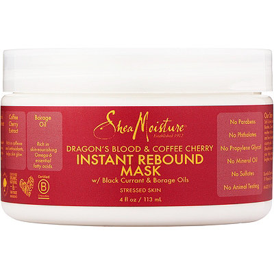 SheaMoisture Dragons Blood %26 Coffee Cherry Instant Rebound Mud Mask
