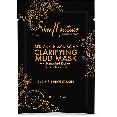 SheaMoistureAfrican Black Soap Clarifying Mud Mask Packette
