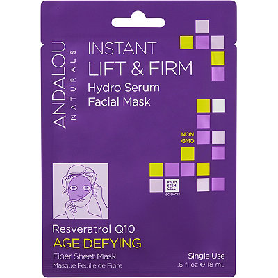 Andalou Naturals Instant Lift %26 Firm Hydro Serum Facial Mask