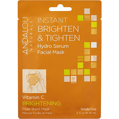 Andalou Naturals Instant Brighten %26 Tighten Hydro Serum Facial Mask