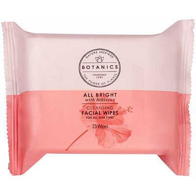 Botanics All Bright Cleansing Facial Wipes